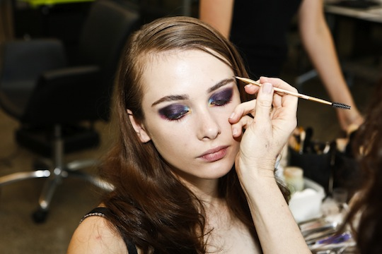 LMFF runway makeup