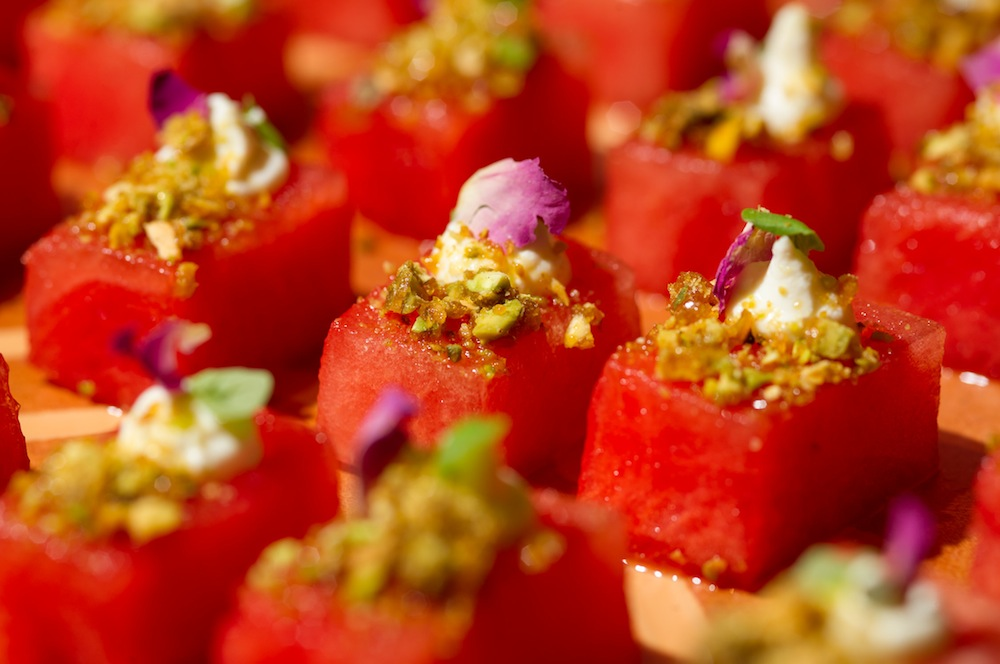 marinated watermelon