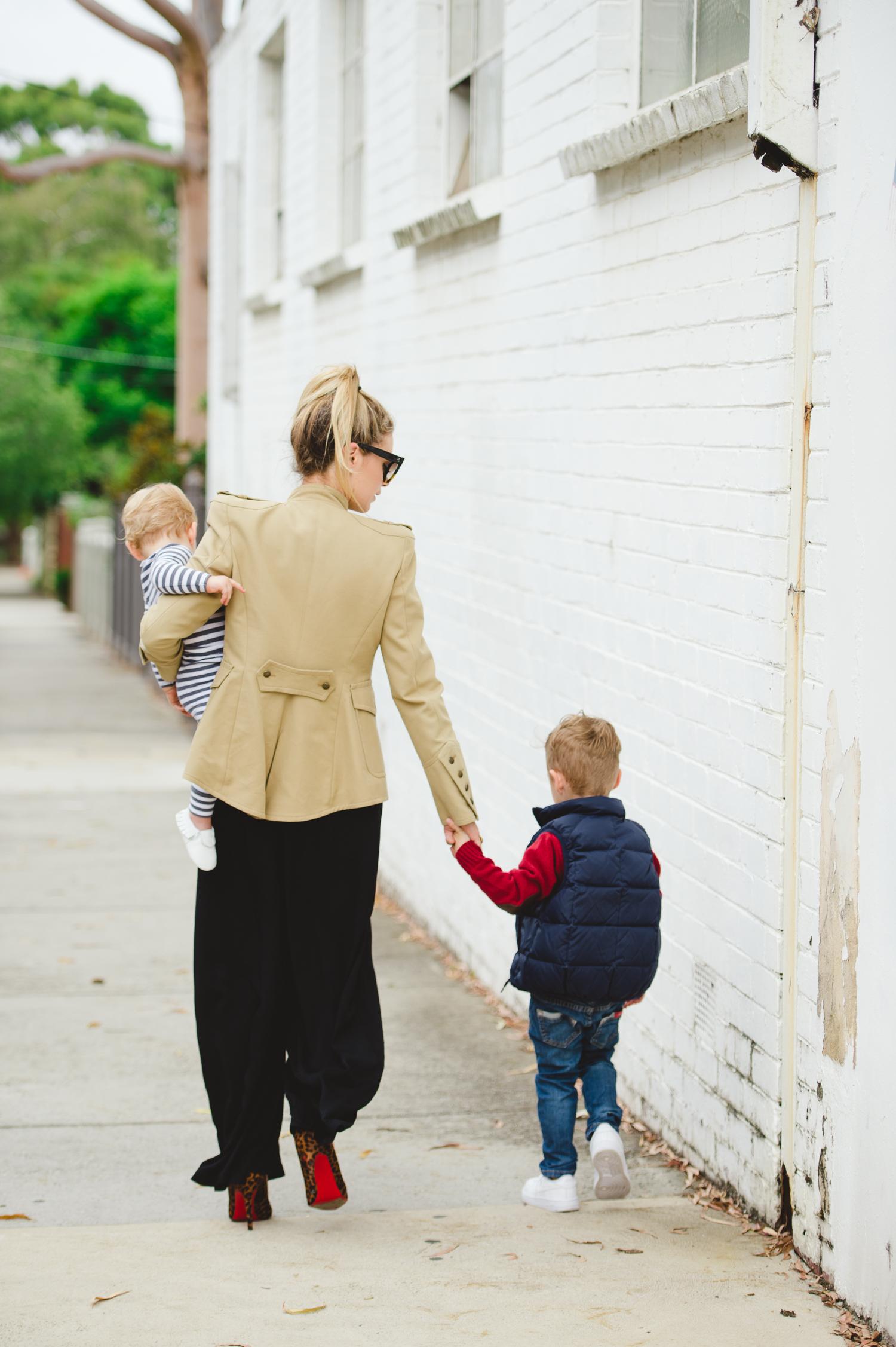 fashion mom editorial