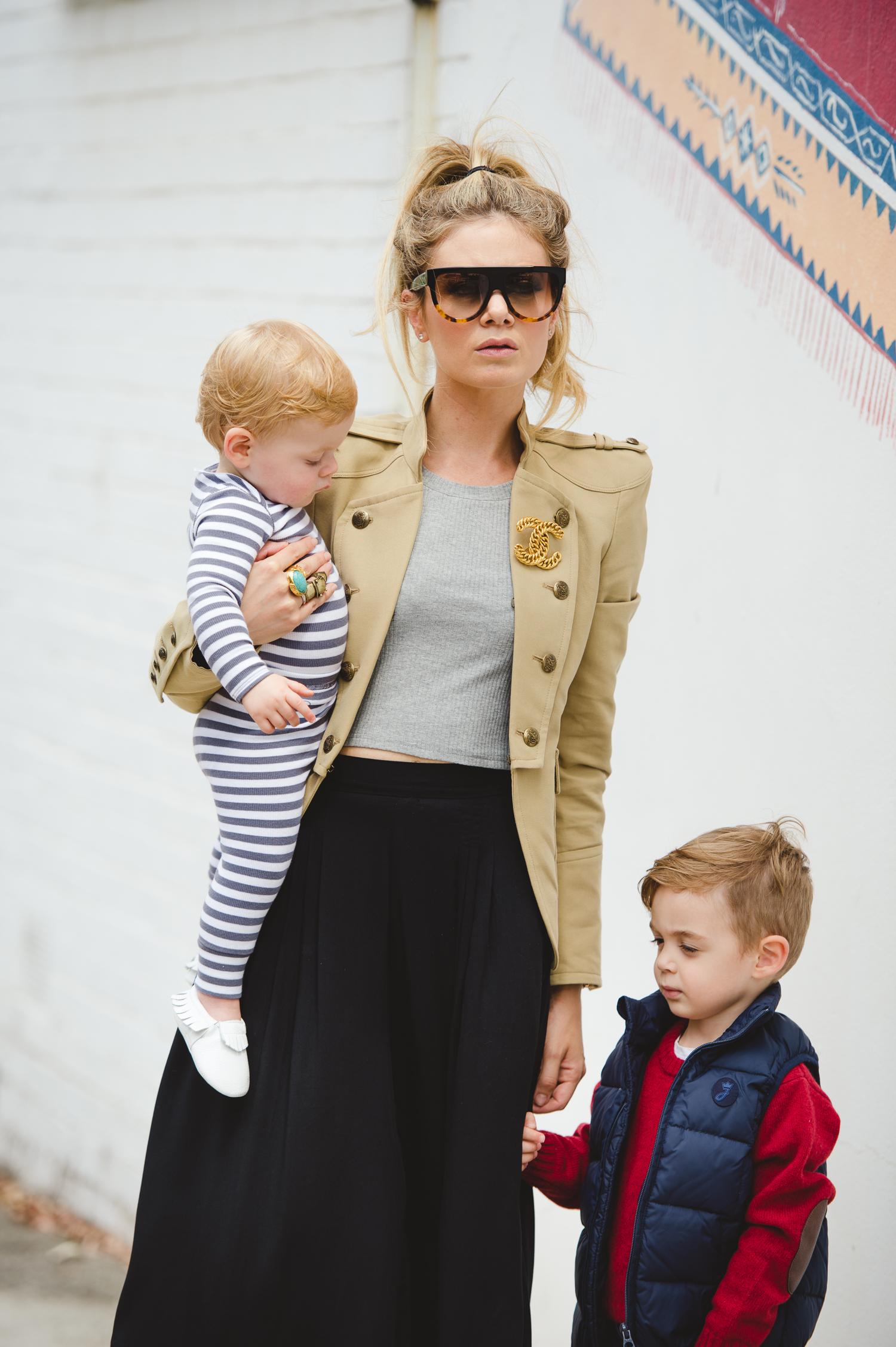 high fashion mum